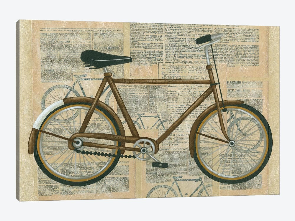 Tour By Bicycle I by Chariklia Zarris 1-piece Canvas Wall Art