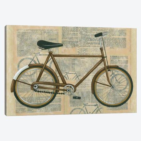Tour By Bicycle I Canvas Print #ZAR9} by Chariklia Zarris Canvas Art