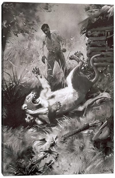 Tarzan of the Apes, Chapter XV Canvas Art Print