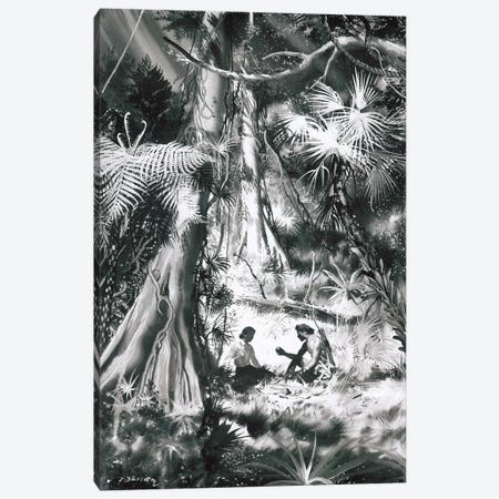 Tarzan of the Apes, Chapter XX Canvas Print #ZDB11} by Zdeněk Burian Canvas Art