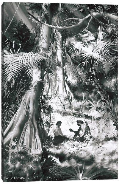 Tarzan of the Apes, Chapter XX Canvas Art Print