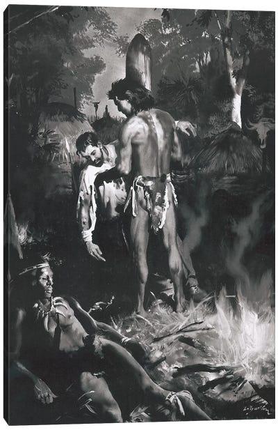 Tarzan of the Apes, Chapter XXI Canvas Art Print
