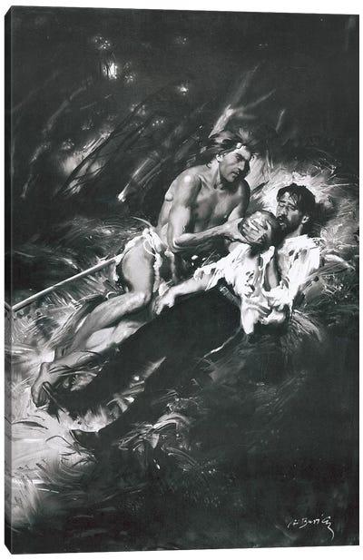 Tarzan of the Apes, Chapter XXIII Canvas Art Print