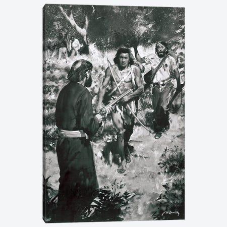 Tarzan of the Apes, Chapter XXV Canvas Print #ZDB14} by Zdeněk Burian Art Print
