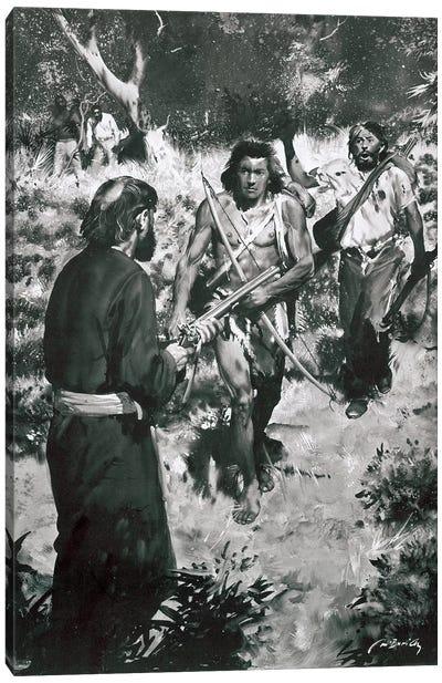Tarzan of the Apes, Chapter XXV Canvas Art Print