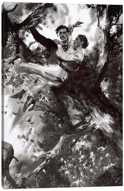 Tarzan of the Apes, Chapter XXVII Canvas Art Print