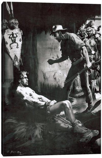 The Beasts of Tarzan, Chapter VII Canvas Art Print