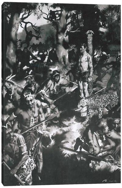 The Beasts of Tarzan, Chapter X Canvas Art Print