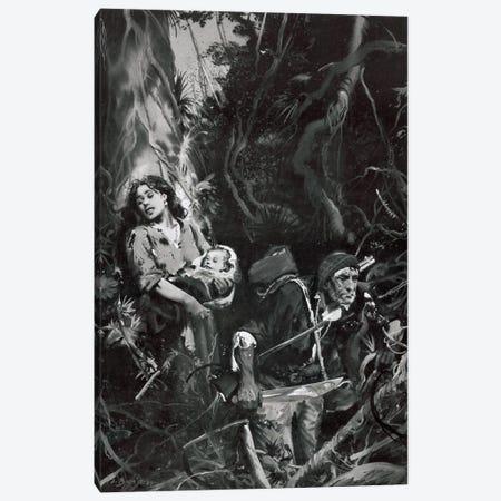 The Beasts of Tarzan, Chapter XII Canvas Print #ZDB19} by Zdeněk Burian Canvas Art
