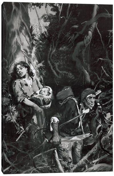 The Beasts of Tarzan, Chapter XII Canvas Art Print