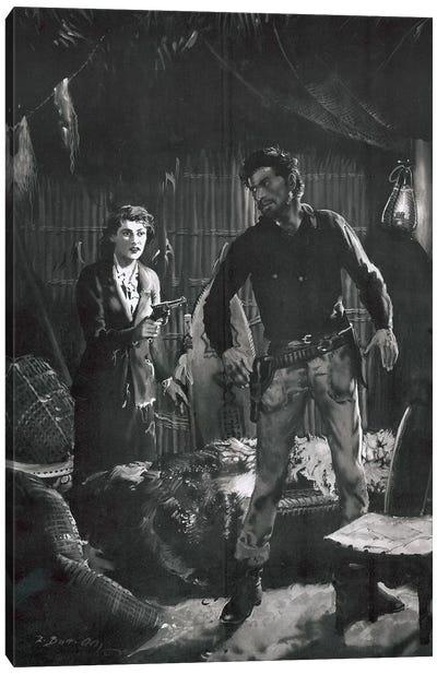 The Beasts of Tarzan, Chapter XIII Canvas Art Print