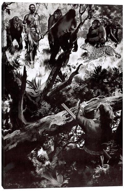 The Beasts of Tarzan, Chapter XIV Canvas Art Print