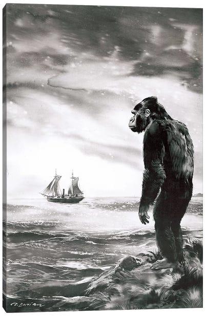 The Beasts of Tarzan, Chapter XXI (part 2) Canvas Art Print
