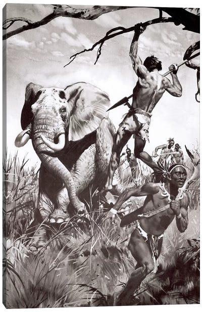 The Return of Tarzan, Chapter XV Canvas Art Print