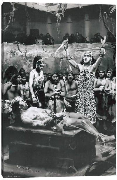 The Return of Tarzan, Chapter XX Canvas Art Print