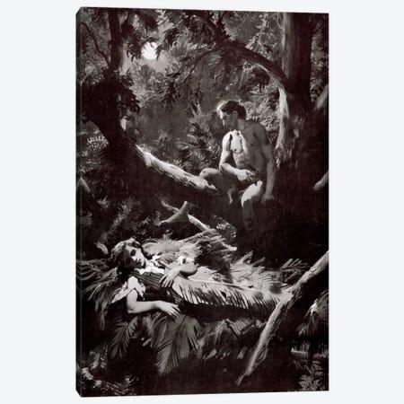 The Return of Tarzan, Chapter XXV Canvas Print #ZDB28} by Zdeněk Burian Canvas Art Print