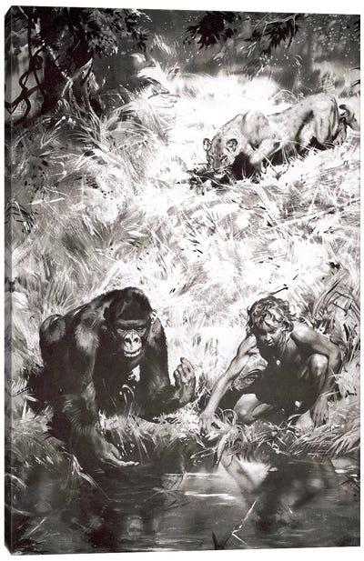 Tarzan of the Apes, Chapter V Canvas Art Print
