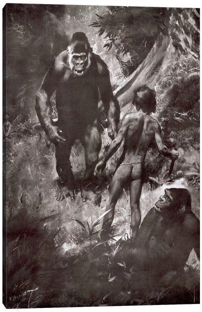 Tarzan of the Apes, Chapter VII Canvas Art Print