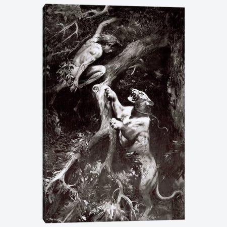 Tarzan of the Apes, Chapter VIII Canvas Print #ZDB4} by Zdeněk Burian Canvas Print