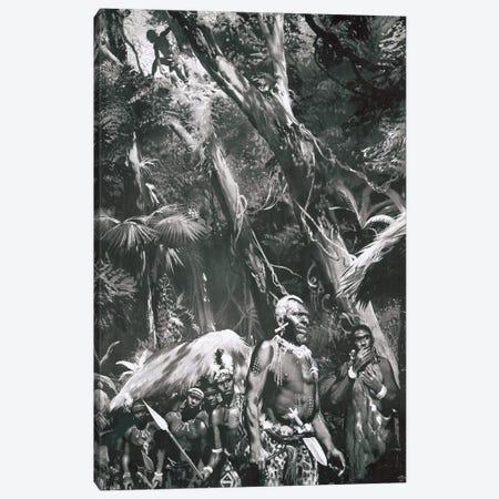 Tarzan of the Apes, Chapter X Canvas Print #ZDB5} by Zdeněk Burian Art Print