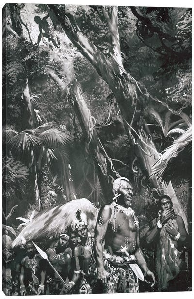 Tarzan of the Apes, Chapter X Canvas Art Print