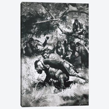 Tarzan of the Apes, Chapter XII Canvas Print #ZDB7} by Zdeněk Burian Art Print