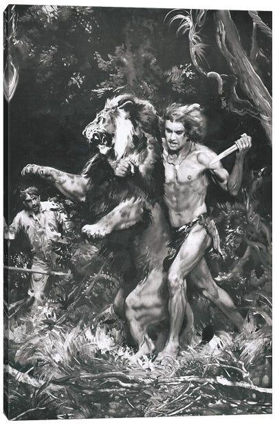 Tarzan of the Apes, Chapter XIV Canvas Art Print