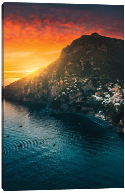Positano Paradiso Canvas Art Print
