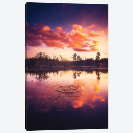 Ripples Canvas Print #ZDO14} by Zach Doehler Canvas Artwork