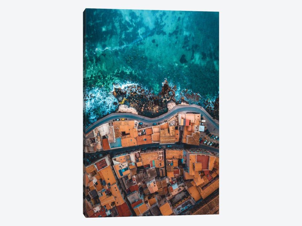 Seaside In Sicily by Zach Doehler 1-piece Canvas Print