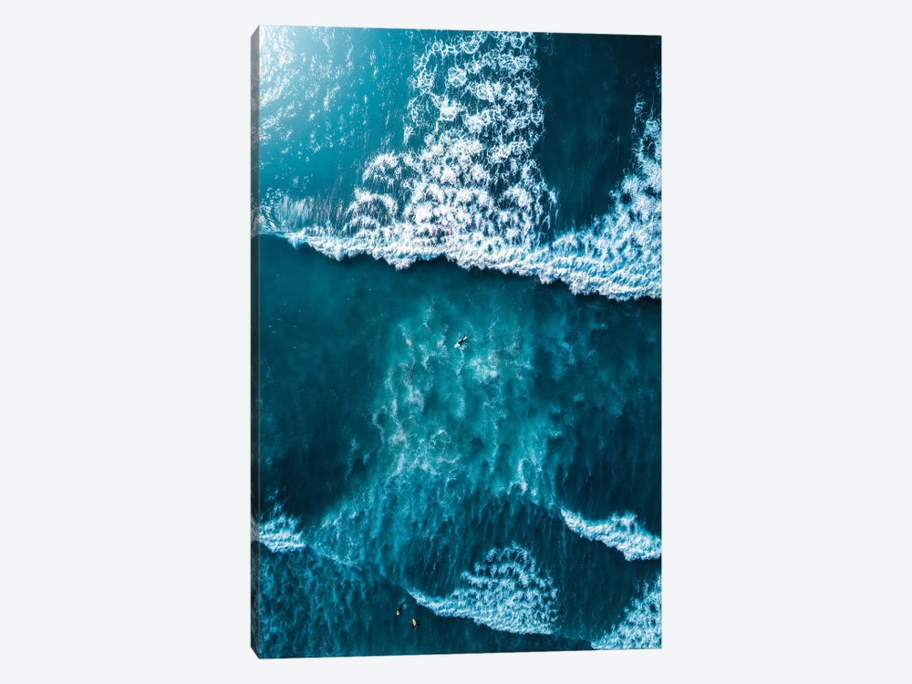 Textures Of The Sea by Zach Doehler 1-piece Canvas Artwork