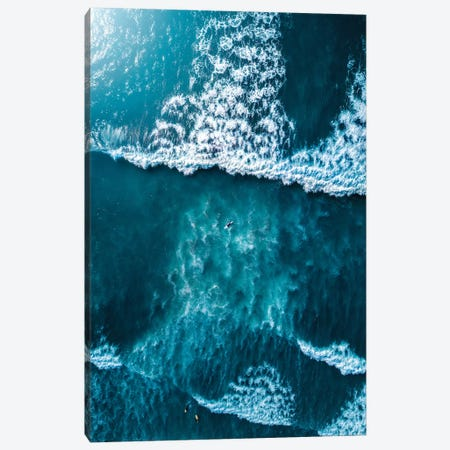 Textures Of The Sea Canvas Print #ZDO20} by Zach Doehler Canvas Wall Art