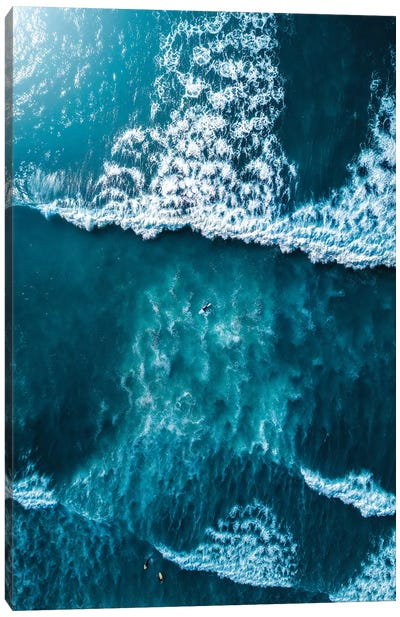Textures Of The Sea Canvas Art Print