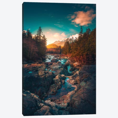 The River Of Tranquility Canvas Print #ZDO27} by Zach Doehler Canvas Art Print
