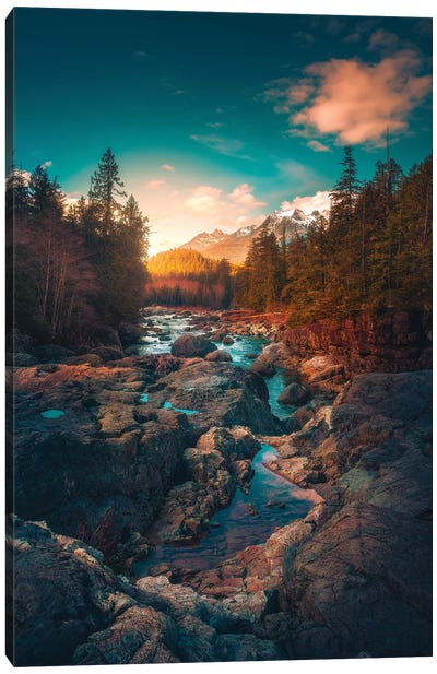 The River Of Tranquility Canvas Art Print