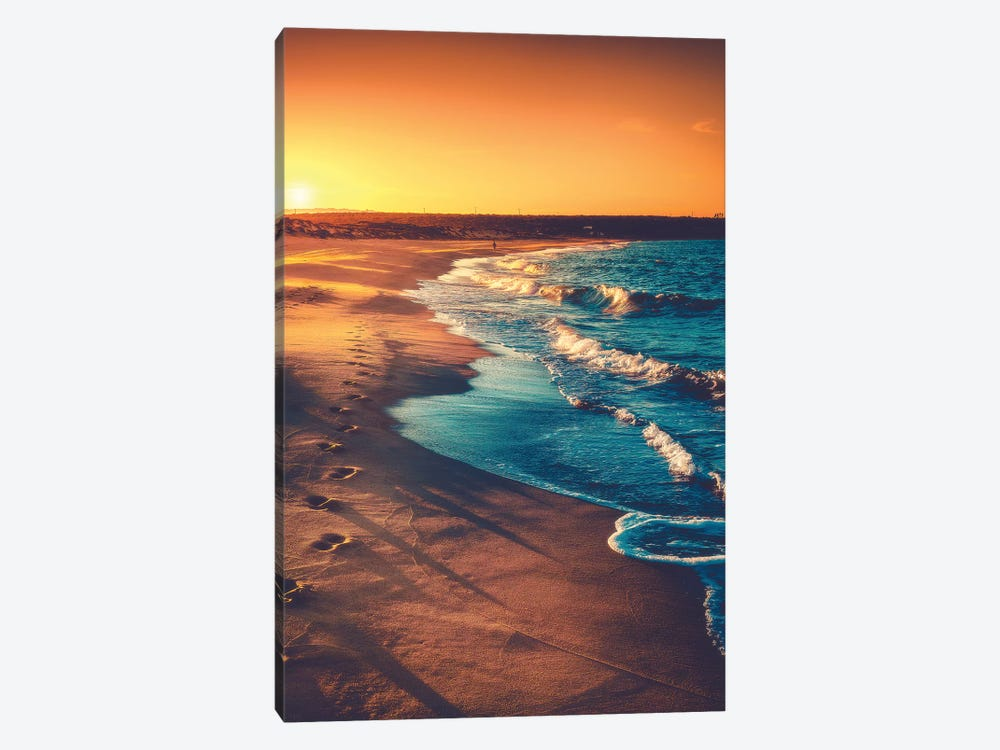 Walks Along The Shoreline by Zach Doehler 1-piece Canvas Print