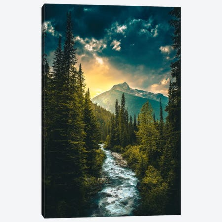 Where The River Flows Canvas Print #ZDO31} by Zach Doehler Art Print
