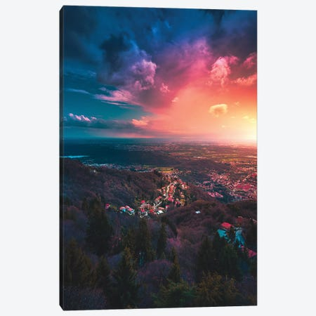 A Coverage Of Colour Canvas Print #ZDO33} by Zach Doehler Canvas Print