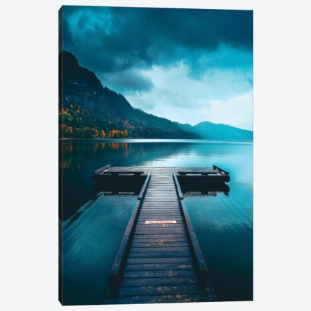 A Peaceful Afternoon On The Dock Canvas Print #ZDO34} by Zach Doehler Canvas Art