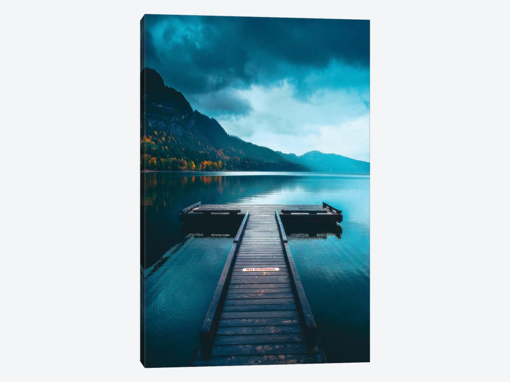 A Peaceful Afternoon On The Dock by Zach Doehler 1-piece Canvas Art Print