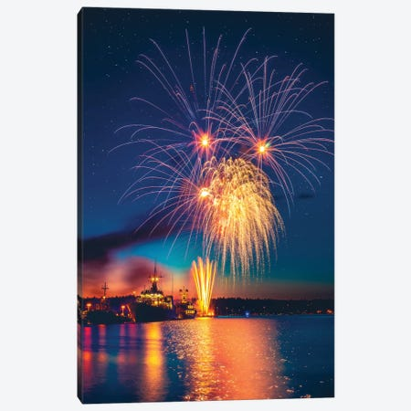 Bursting With Colour Canvas Print #ZDO38} by Zach Doehler Art Print