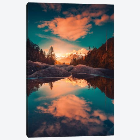 Collateral Colours Canvas Print #ZDO39} by Zach Doehler Canvas Art Print