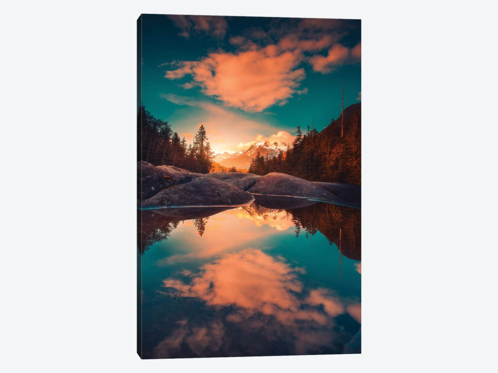 Collateral Colours by Zach Doehler 1-piece Canvas Artwork