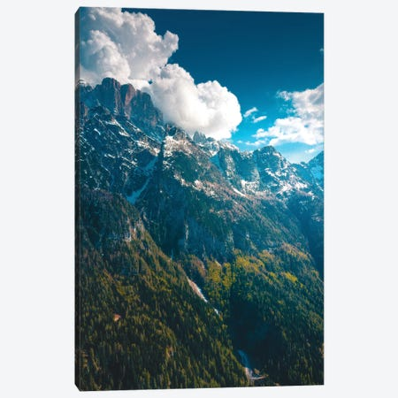 Daytime In The Dolomites Canvas Print #ZDO44} by Zach Doehler Art Print