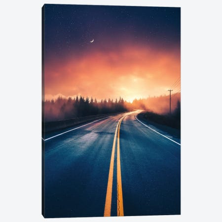 Driving Without A Destination Canvas Print #ZDO48} by Zach Doehler Canvas Art