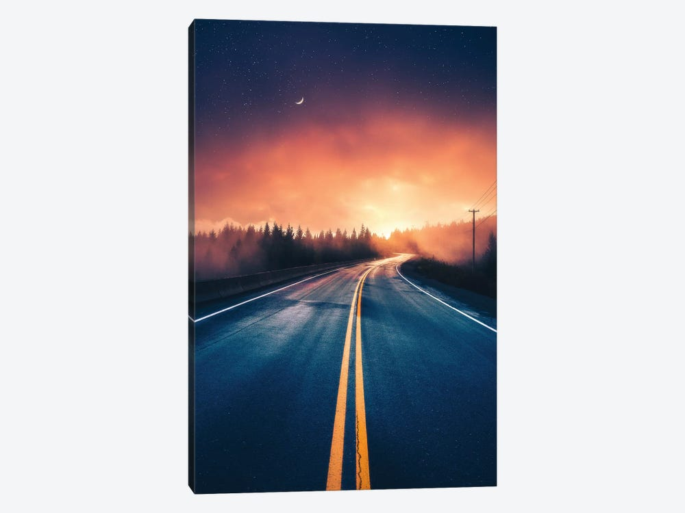 Driving Without A Destination by Zach Doehler 1-piece Canvas Wall Art