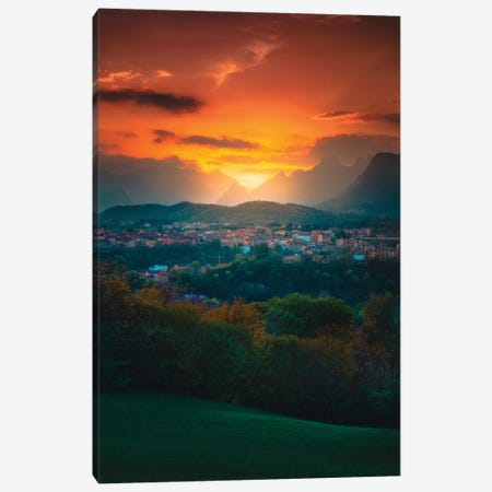 Dusk In The Dolomites Canvas Print #ZDO49} by Zach Doehler Canvas Art