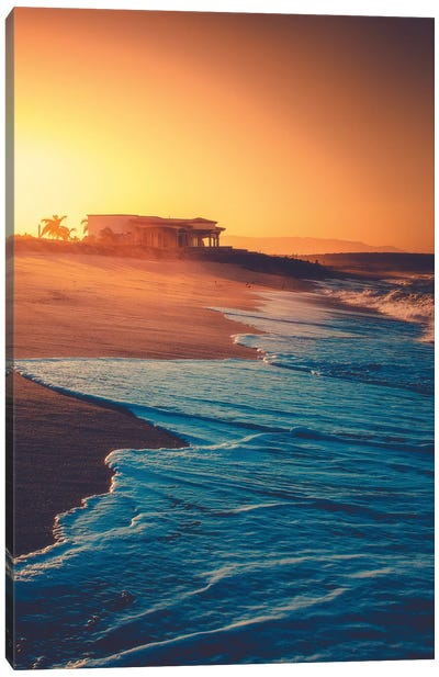 Moody Shores Canvas Art Print