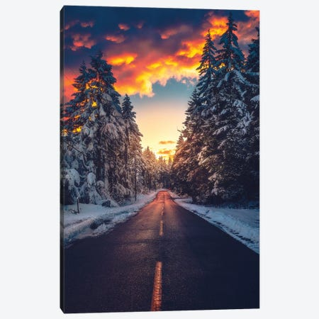 Fire And Ice Canvas Print #ZDO51} by Zach Doehler Art Print
