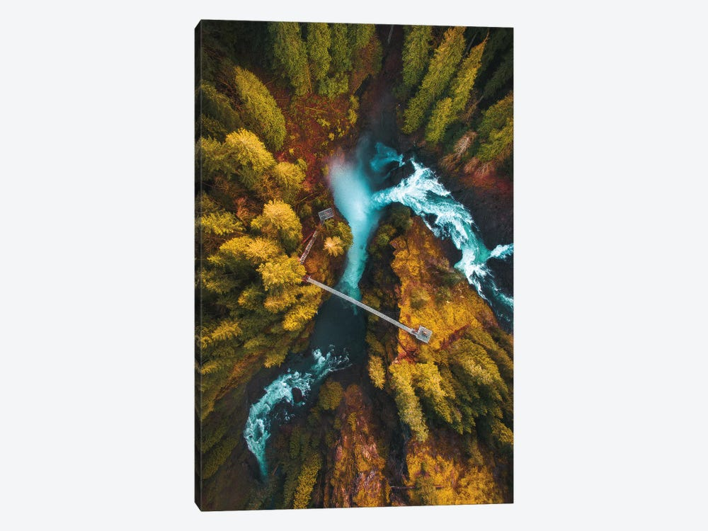 Flying Over The Falls by Zach Doehler 1-piece Art Print